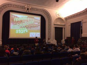 STARS presentation in amazing auditorium