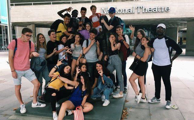 Exchange trip to london Alhama high school and Art school (easdi) of Corella