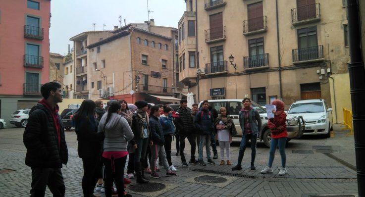 El alumnado de 3º PMAR, guía turístico de Corella