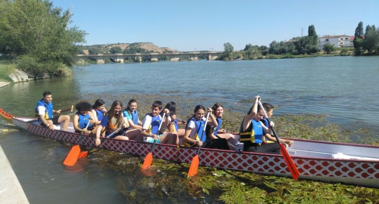 Dragon boats en Tudela