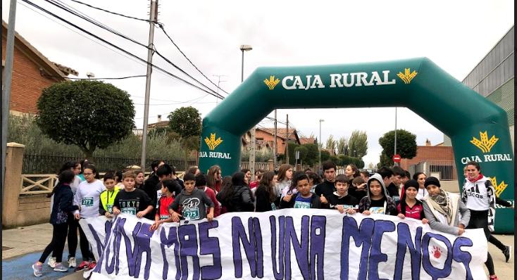 """""""CEDE  EL PASO A LOS BUENOS TRATOS"""" (el  IES Alhama se suma al 25 de noviembre)"""