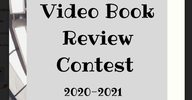 Video Book review contest 2020/2021