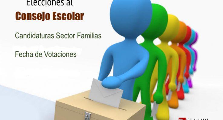 Renovación sector Familias del Consejo Escolar del IES Alhama.
