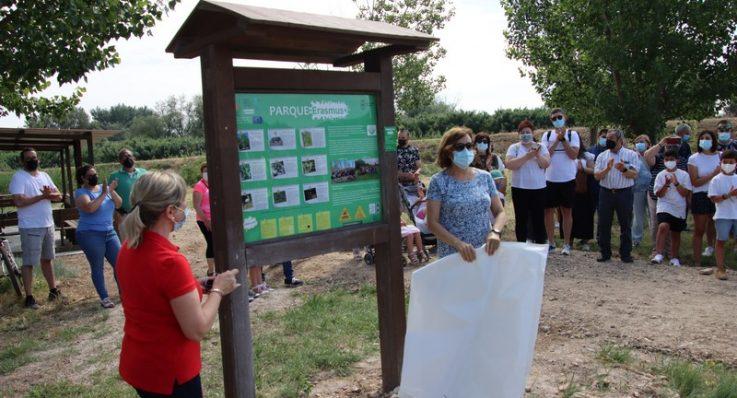 Inaugurada el  aula de naturaleza en El Parque Erasmus y superadas las 300 entradas en el blog